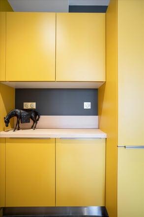 cuisine jaune par Denis Le Mesle
