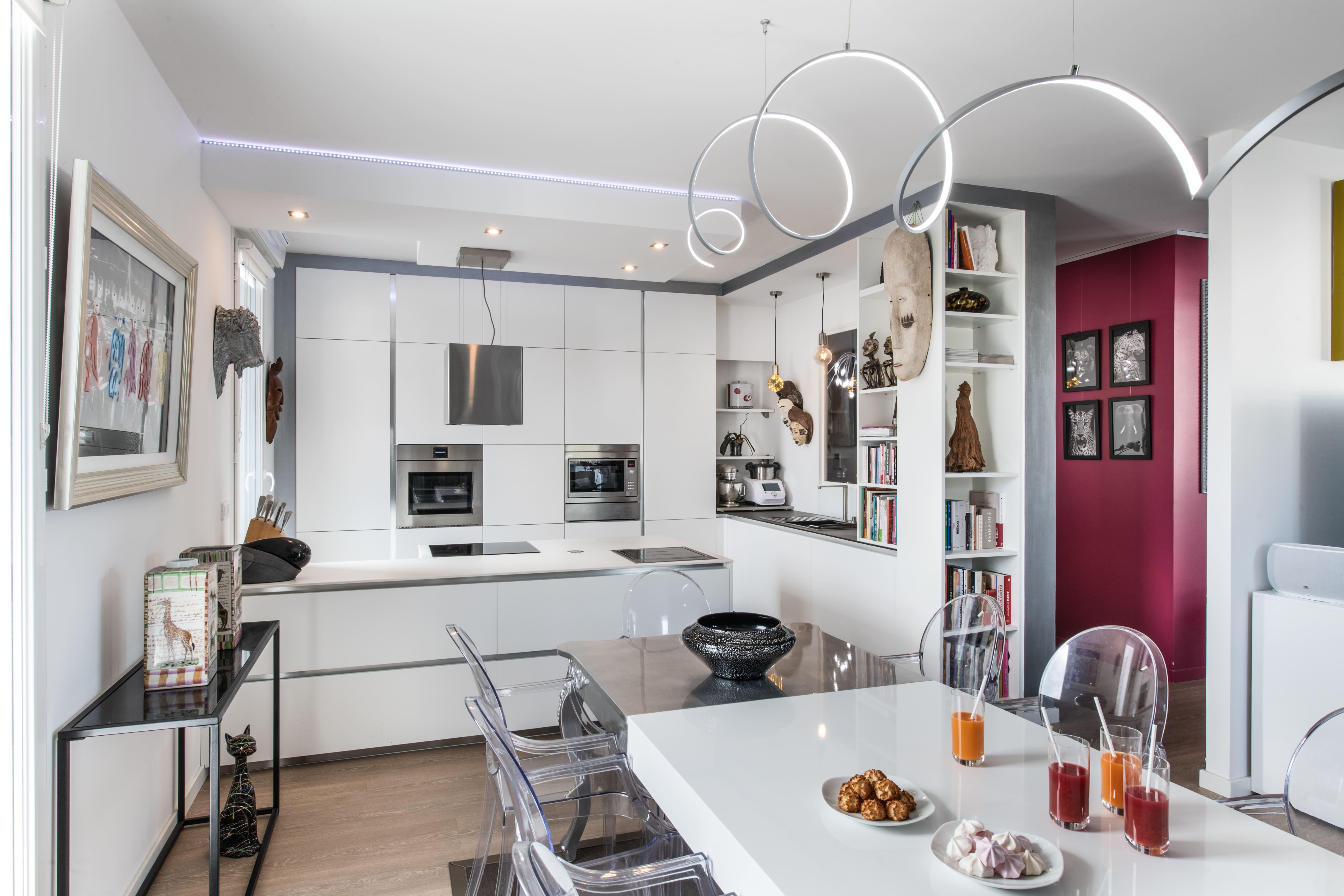 cuisine blanche décoration design